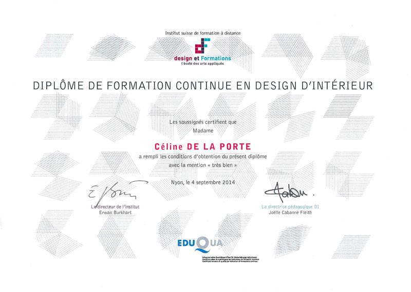 cdlp design interieur, interior designer, architecture interieur, decoration interieur, diplome, Ecole design et formations