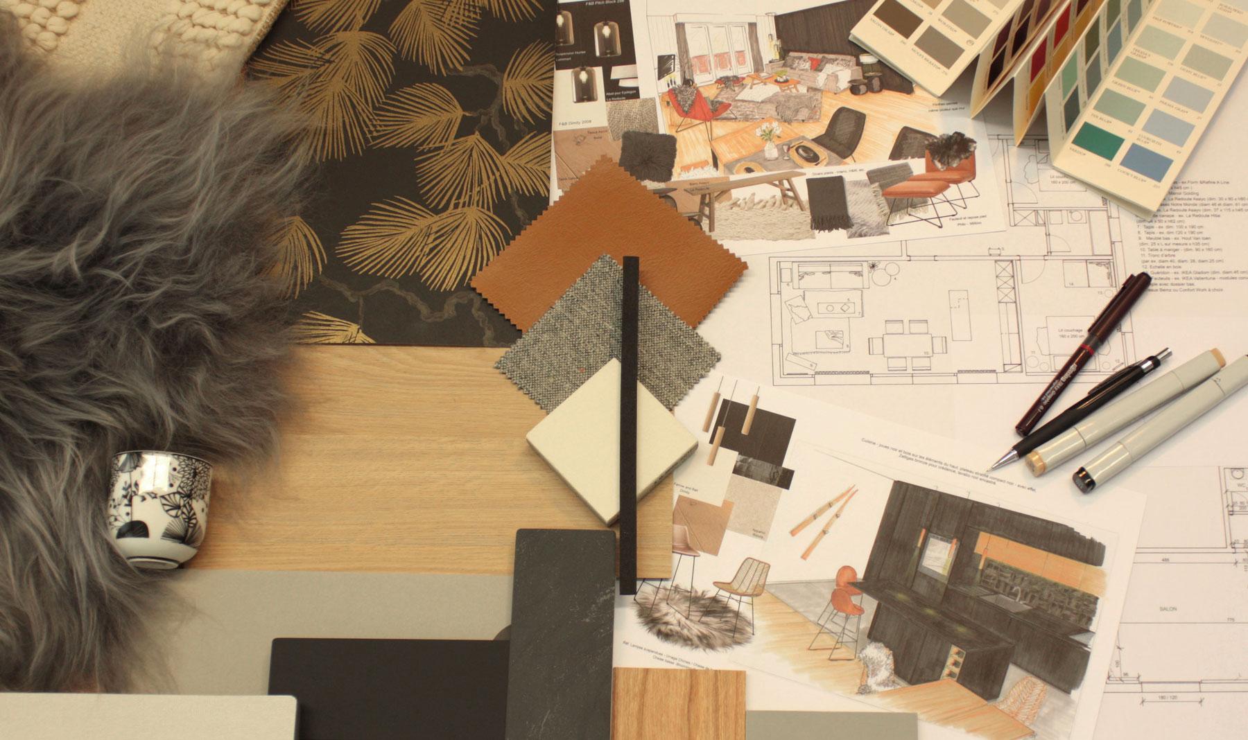 cdlp design interieur, interior designer, architecture interieur, decoration interieur, mon travail, work process